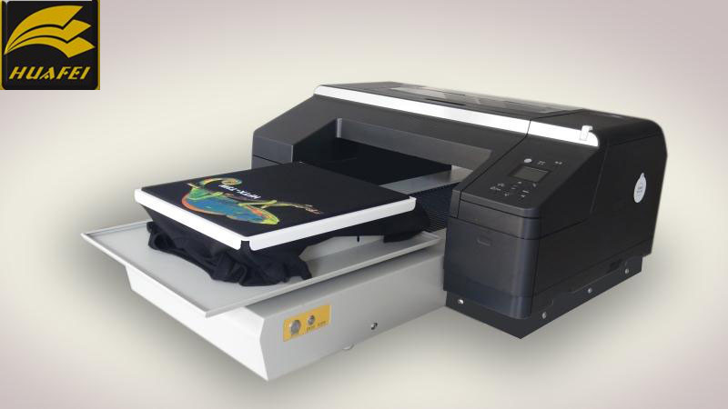 Huafei Flatbed Digital DTG t shirt Printer