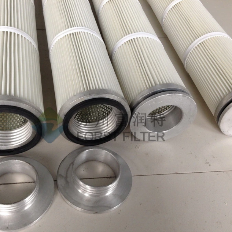 Forst Polyester Pleated Bags Filter cartridge for dust collector