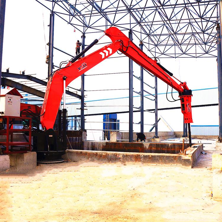 China YZH Brand Pedestal Rock Breaker Boom System