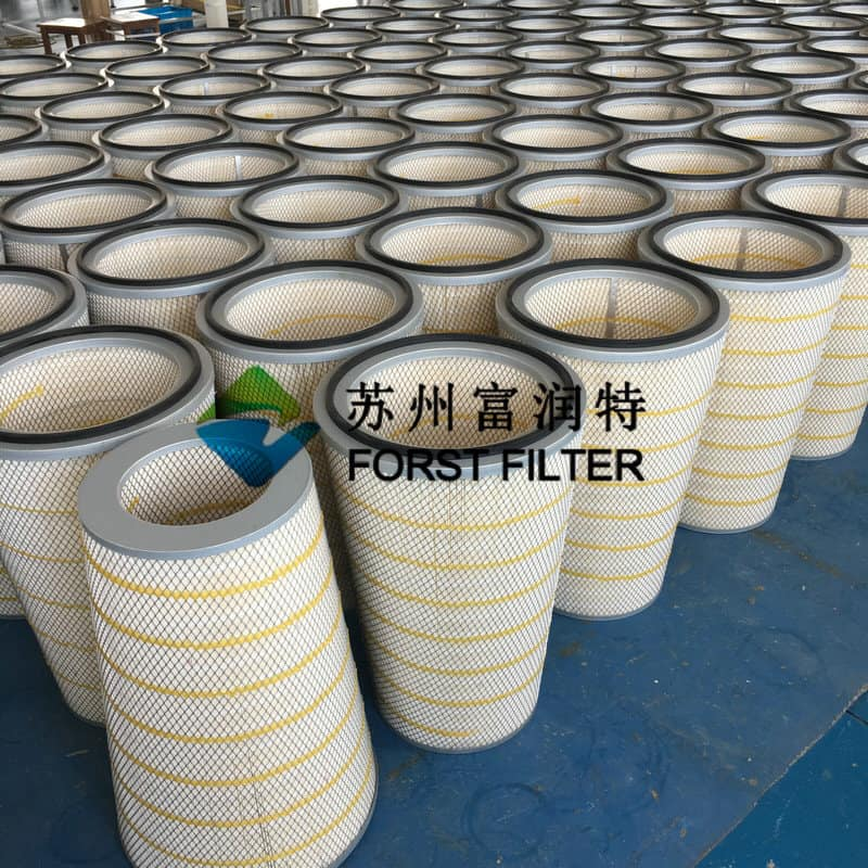 Forst Gas Turbine air intake Pleated Cellulose Filter Cartridge