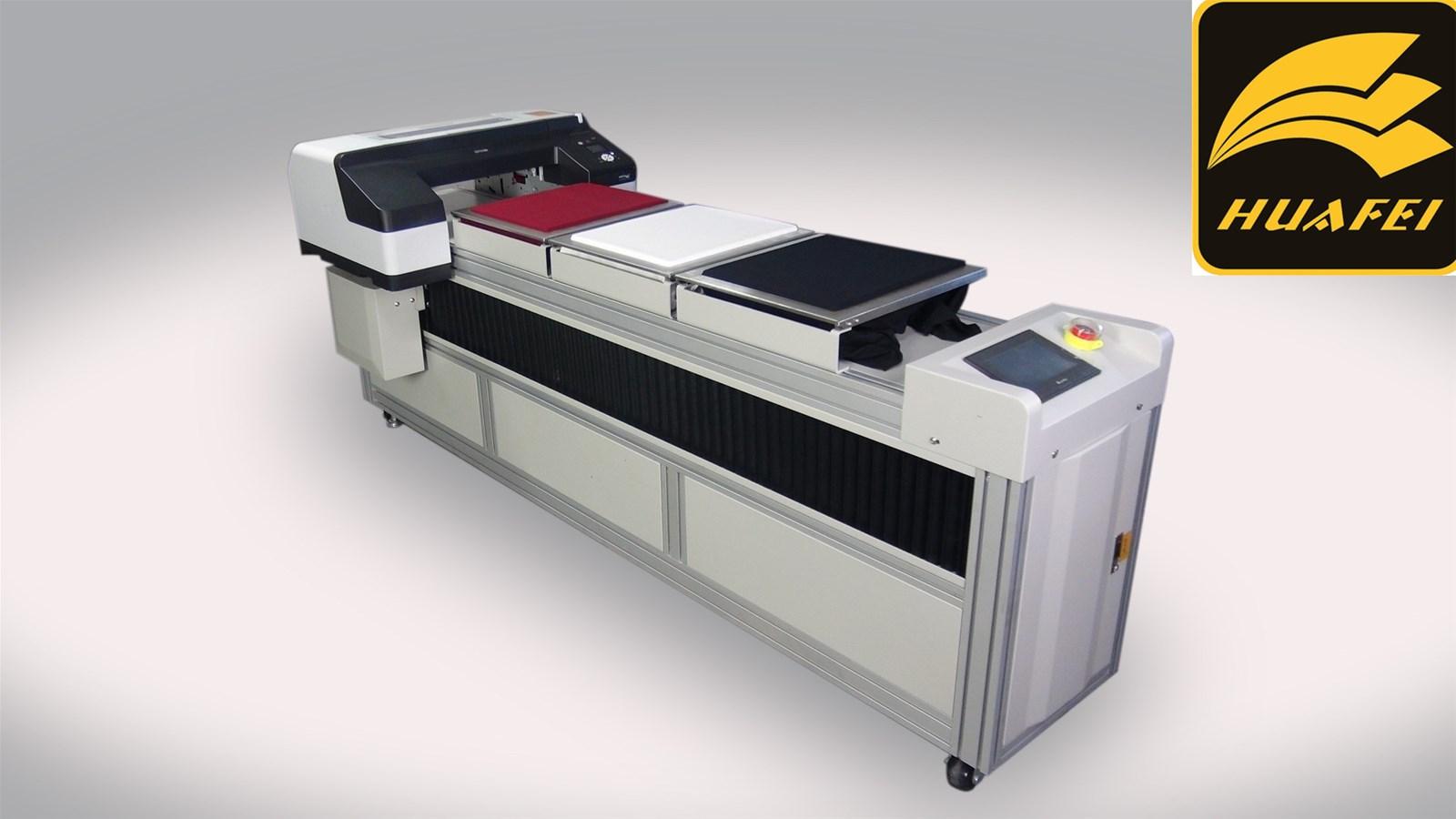 HUAFEI 3 Pallets Garment Dtg Printer for tShirt Machine