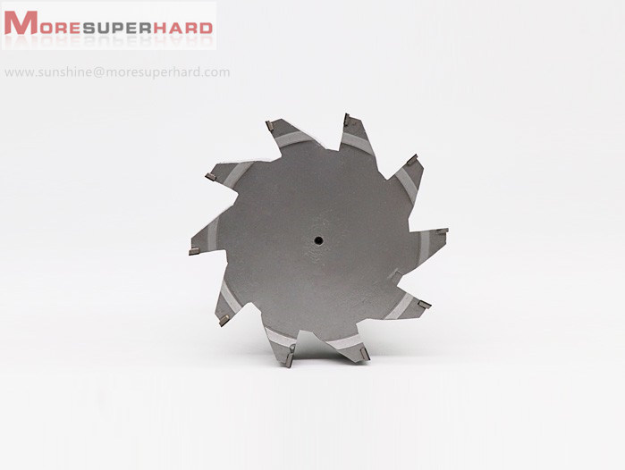 PCD face milling cutter for gearbox