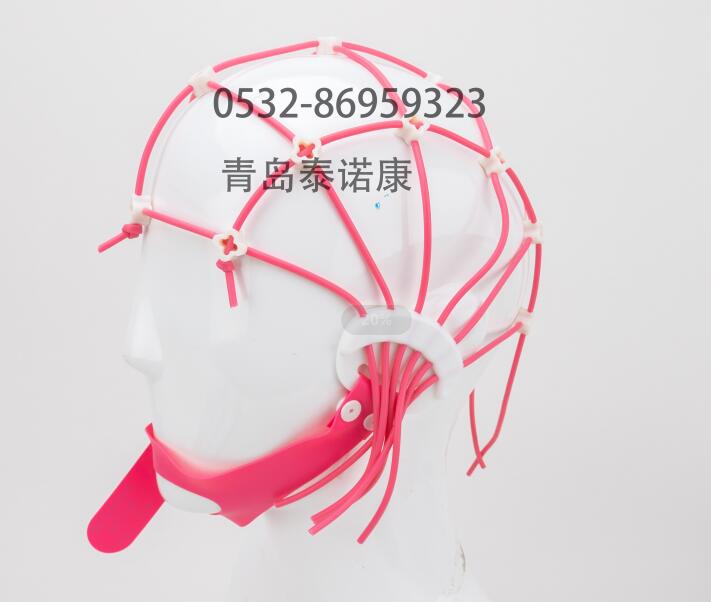 EEG Cap silicone strip new elastic mesh cap bridge electrode and crocodile clamp electrode for easy positioning