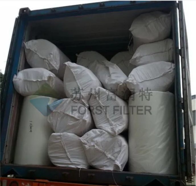 FORST Floor Filter Fiberglass Spray Booth Filter Media