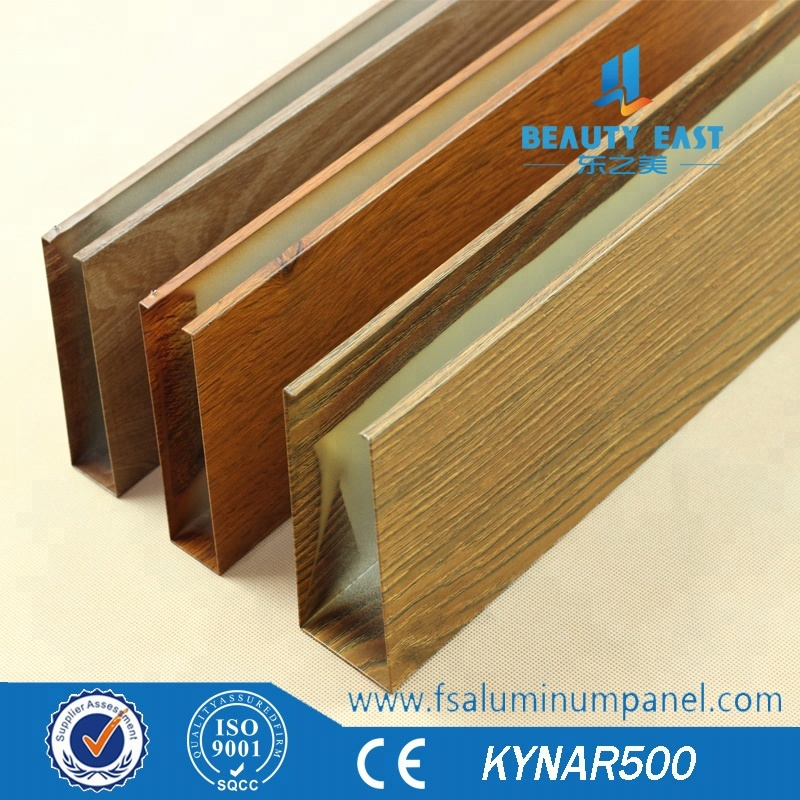 Metal construction material manufactured in Foshan aluminum baffle ceiling panel