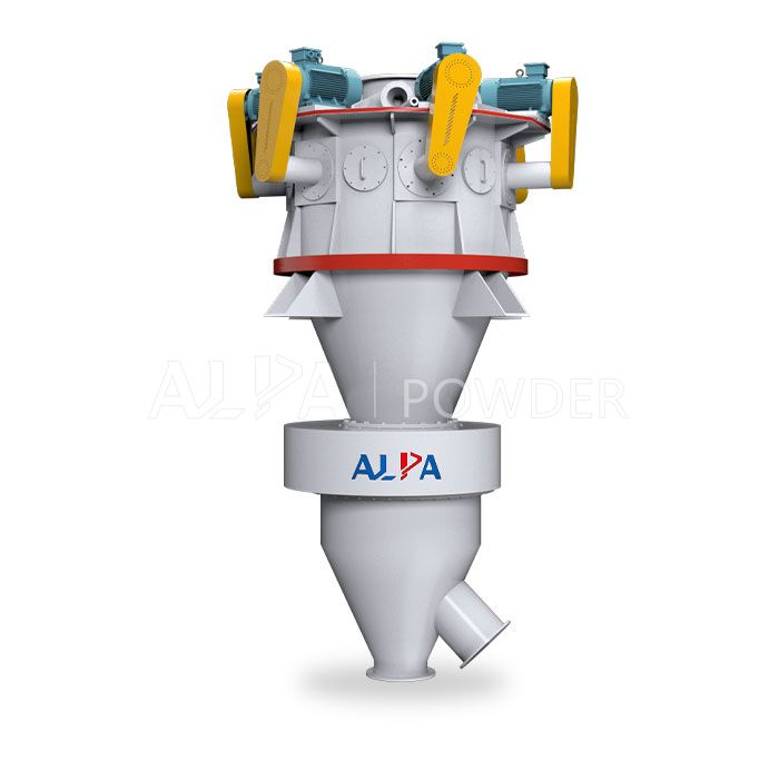 High Capacity Ultrafine Powder Air Classifier Production Line for NonMetallic Mineral 1525 Micron