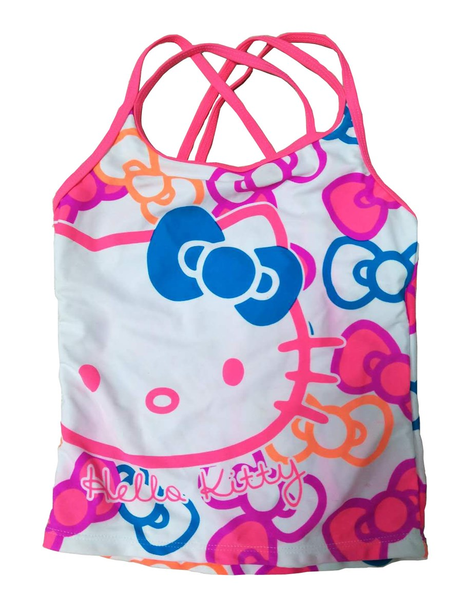 Childrens cartoon swimsuit with rich patterns