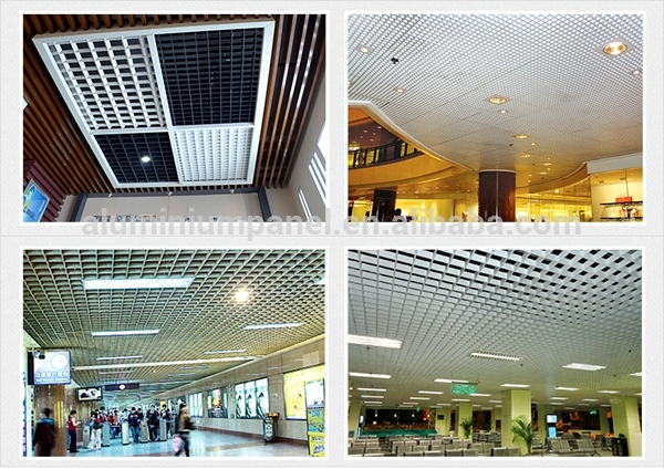 Aluminum Grid Ceiling Panel Produced by False Ceiling Machine