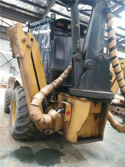 Used Backhoe Loader Used Caterpillar 416E Backhoe loader