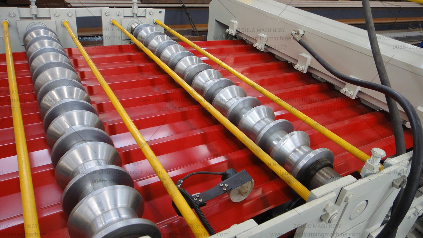 Serbia Double layer metal roof panel roll forming machine