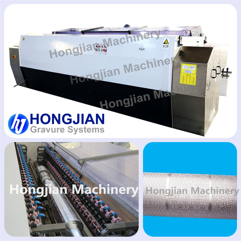 Spray Etching Machine for Gravure Cylinder Embossing Roller Laser Lacquer Etching Copper Steel