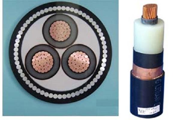 Medium voltage power cable Voltage 1836 up to 2635KV