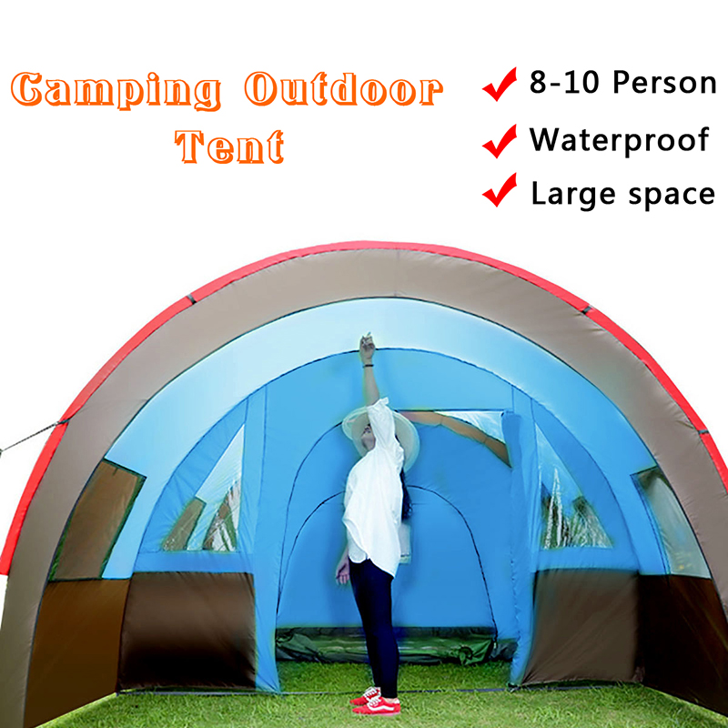 Large Outdoor camping Activity Tunnel Tent