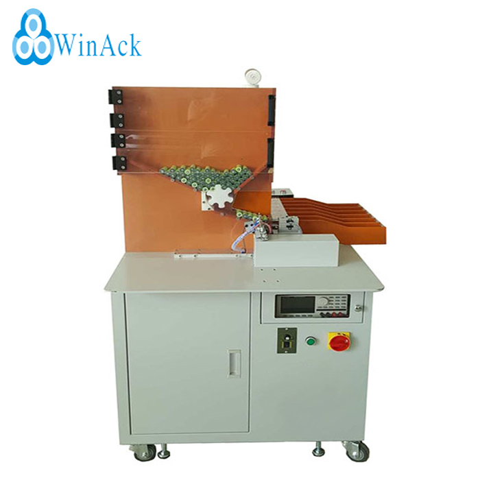 Automatic Battery cell Sorting Machine for battery cell voltage and resistance testing and sorting