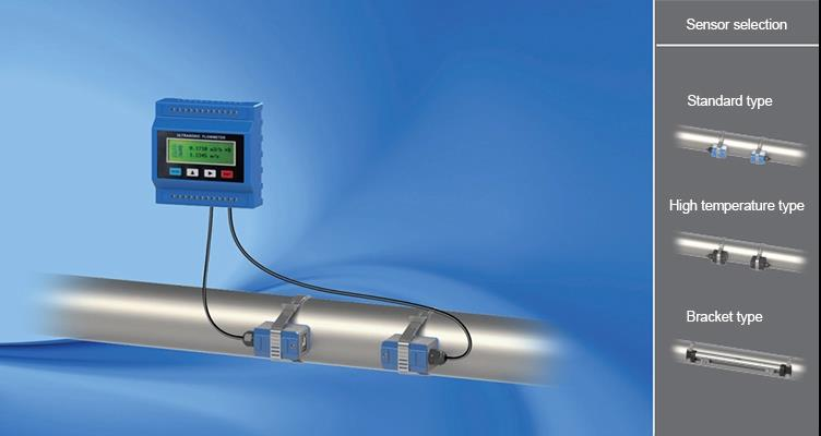 3channel 420mA current input ultrasonic flow meter