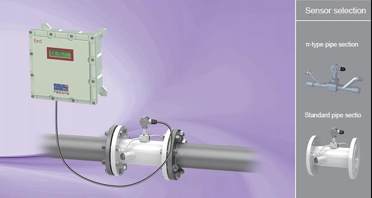 GMF200D Explosionproof pipe type ultrasonic flowmeter