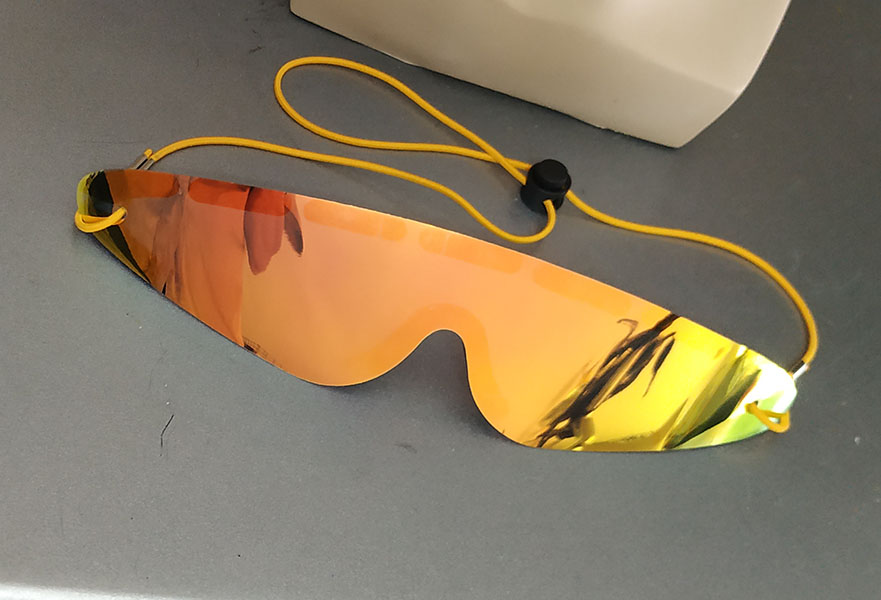 Roll up Sunglasses hot promotional item solaris and revoblue color