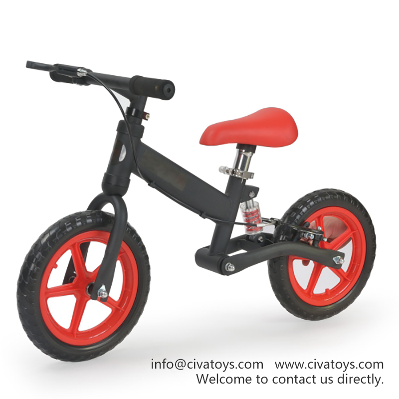 Civa AntiShock Kids Balance Bike N02B01A EVA Wheels Children Ride on Toy Car with Hand Brake