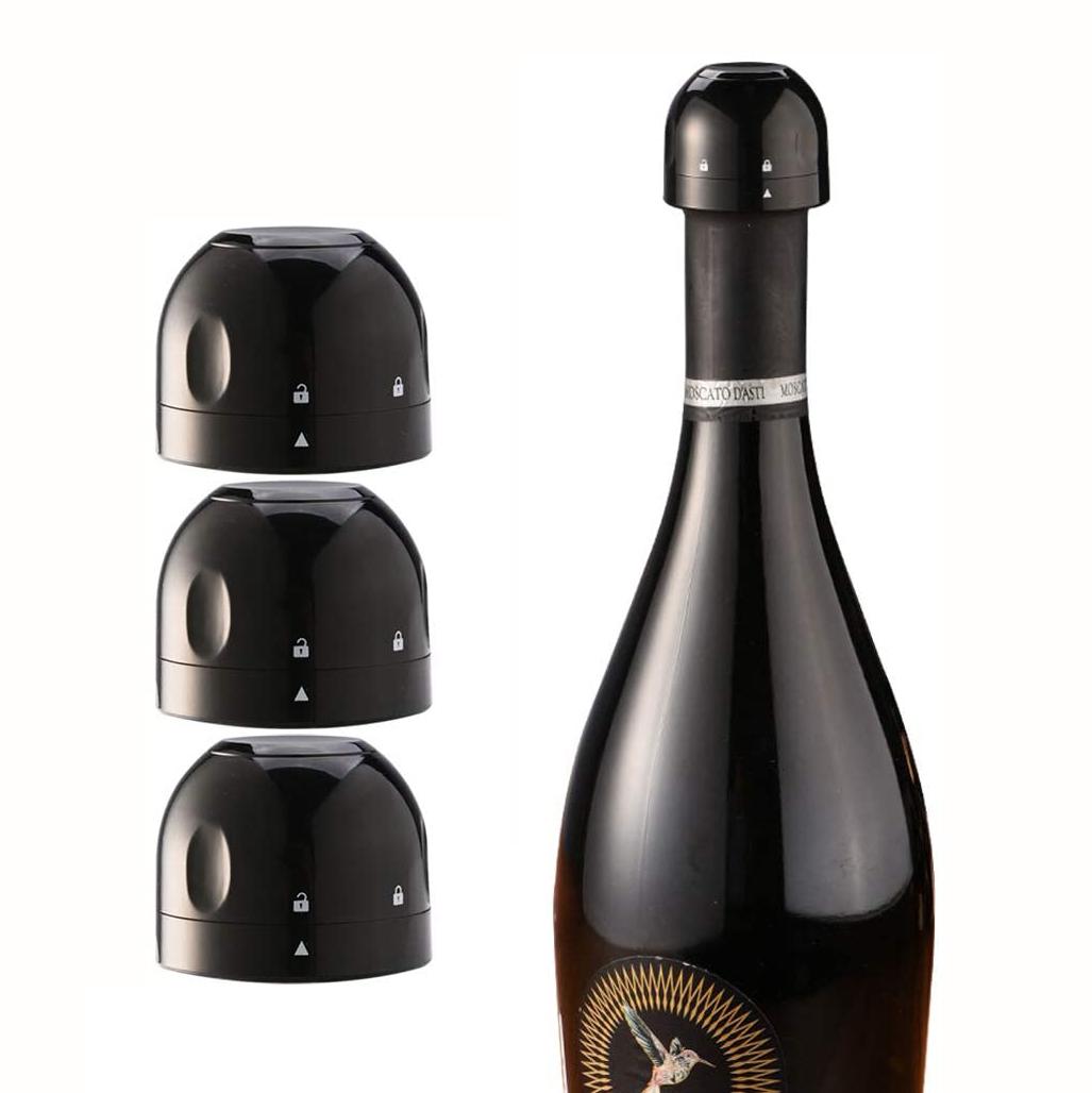 Custom Wine Accessory Mini Silicone Round Champagne Bottle Stopper