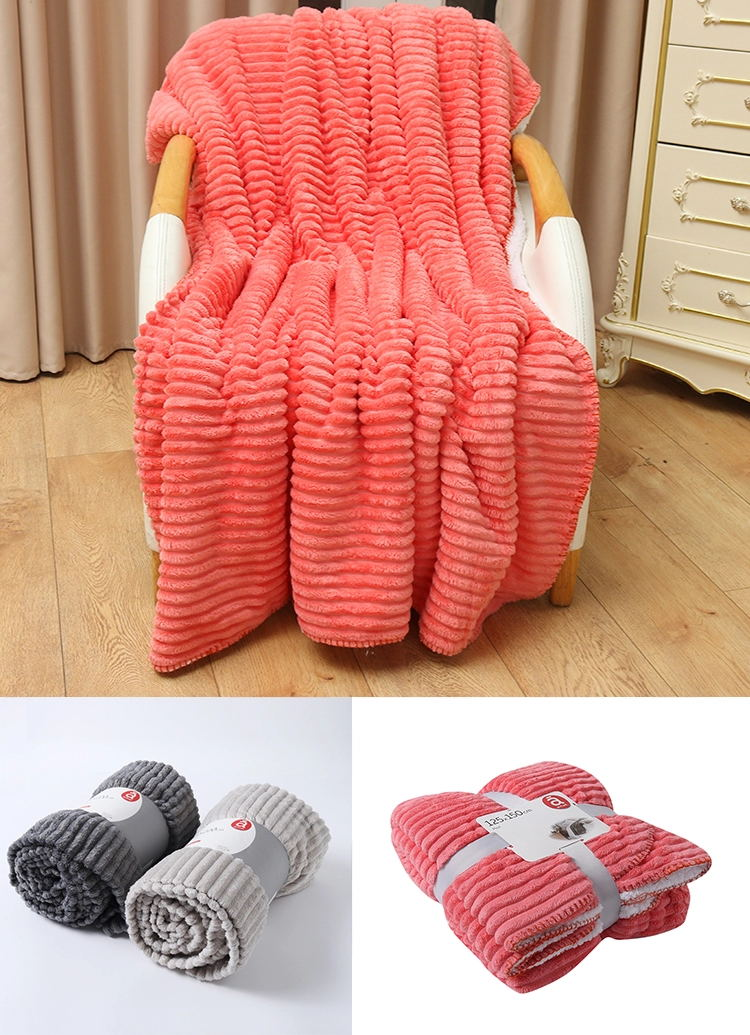 Ultra Soft Cozy Plush Fleece Warm Solid Colors Traveling Throw Blanket