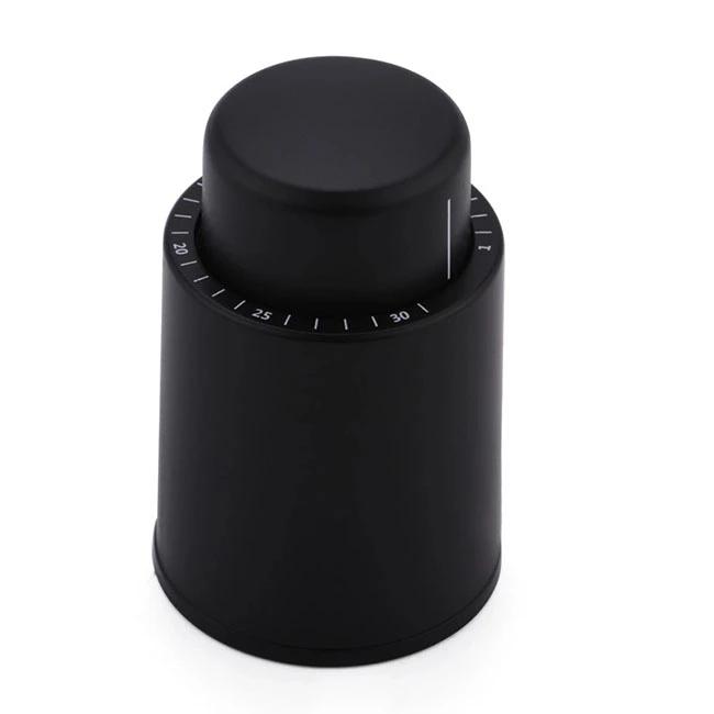 Barware Silicone Plastic Time Scale Wine Vacuum Bottle Stopper Wine Accesory