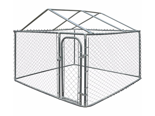 Chain Link Dog Cage for sale