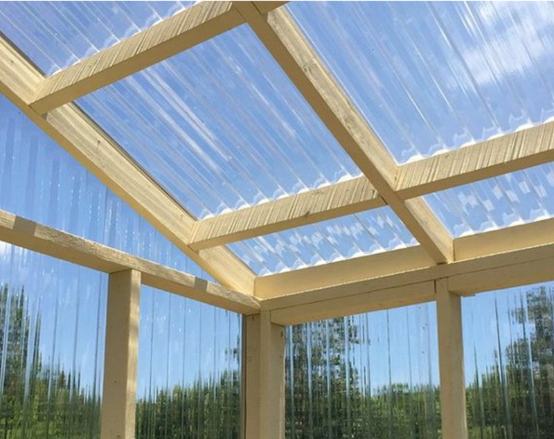 Transparent Corrugated Panel Fiberglass Sheet for Greenhouse Roof