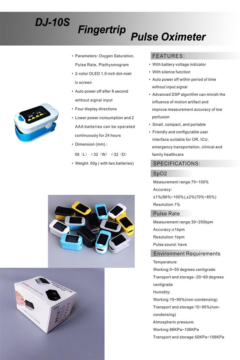 Factory Outlet Digital Blood testing machine LED Display Pulse Oximeter