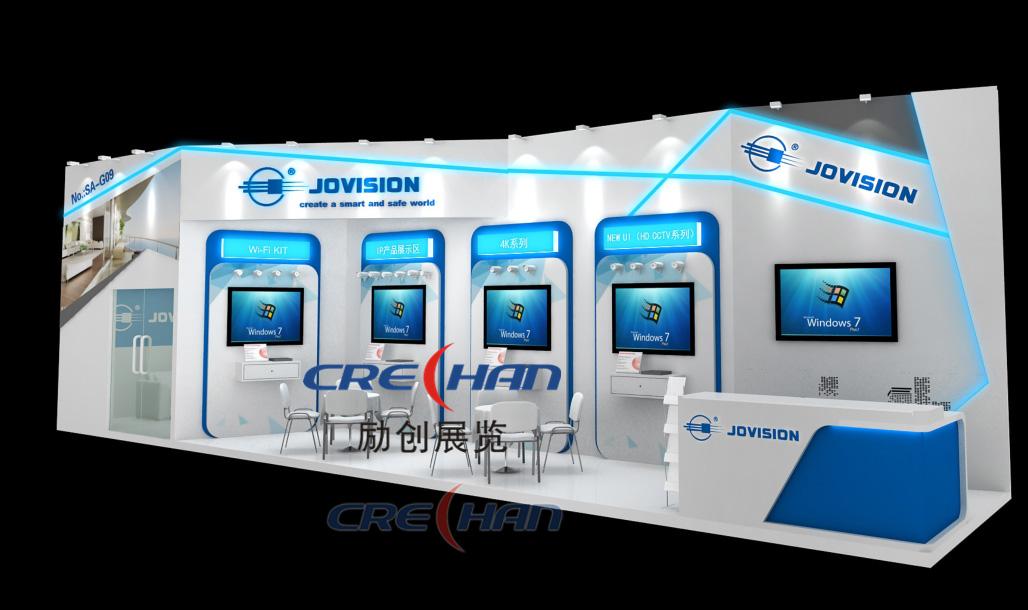 Crechan Exhibition Provide Custom Modular Exhibition Stands Design and Build Service