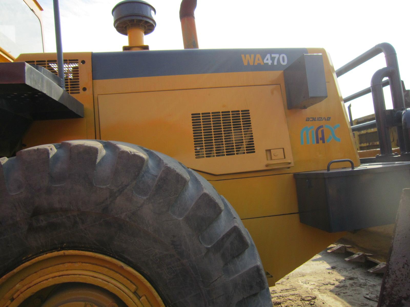 factory price komatsu wa470 wheel loader komatsu wheel loader wa470
