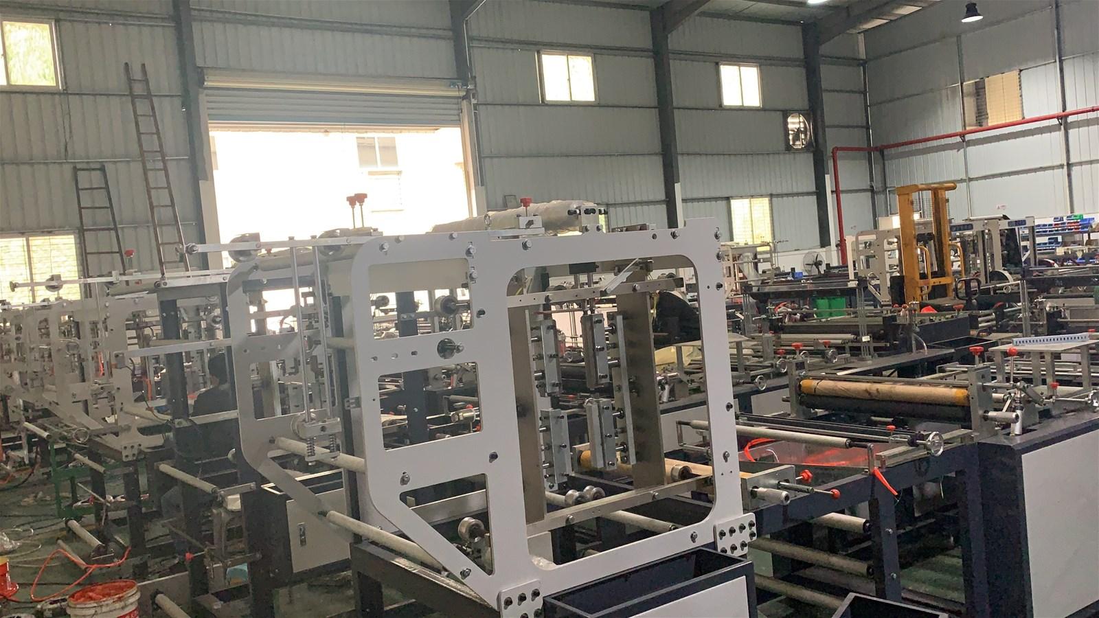 Jinneng Selfsealing bag making machine bag making machinery