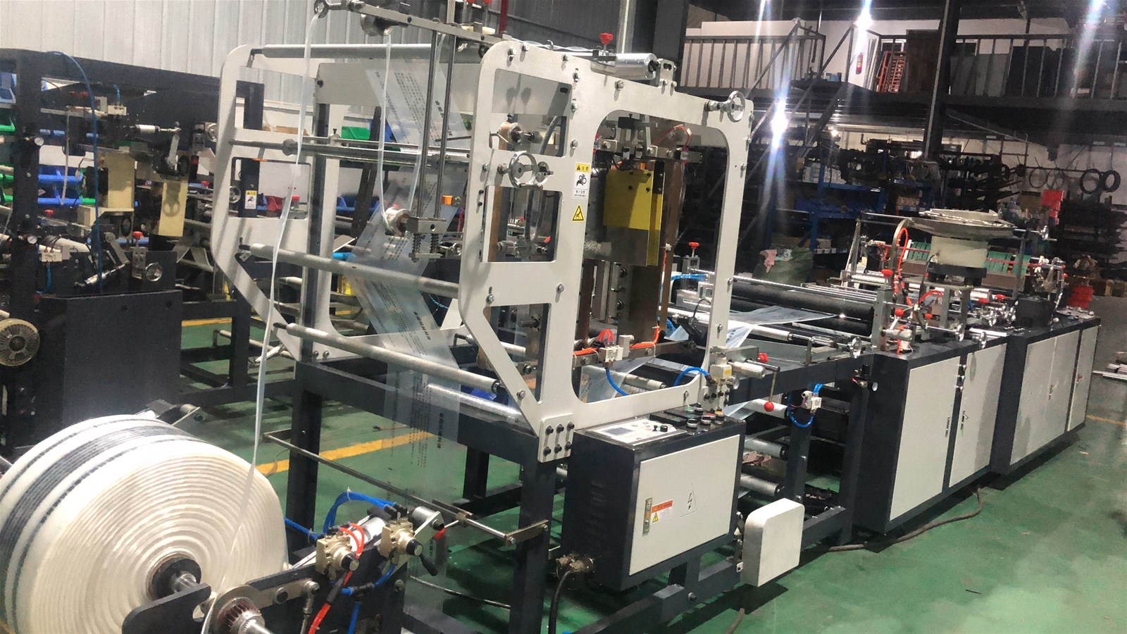 Jinneng 800 zipper bag making machine