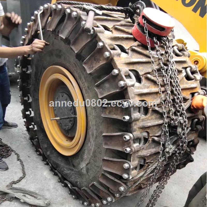CAT980 Tyre protection chains295R25