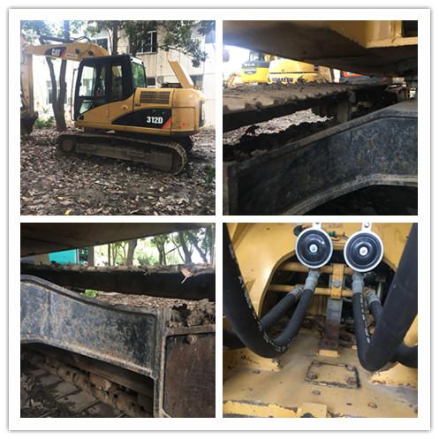 Used Caterpillar 312D 12ton excavator on sale