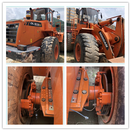 Used DOOSAN DL503 wheel loader on sale
