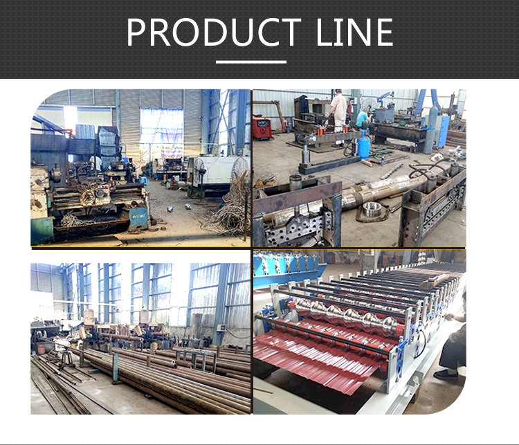 High Quality Double Glazed Tile Sheet Roof Press Making Machine Roll Forming Machinery