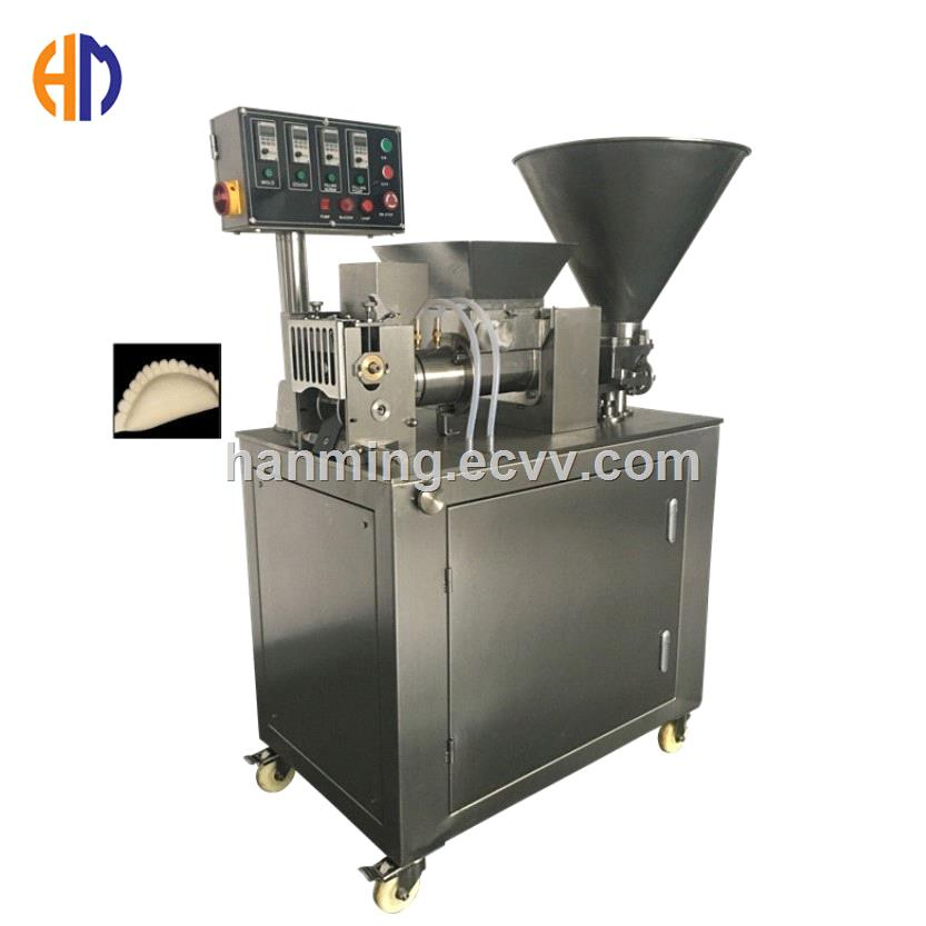 automatic dumpling potstickers spring roll and empanada making machine with dough cooling system