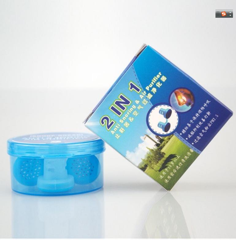 Nasal Anti Snoring Device nose purifier Mini nasal respirator sleep Anti Snoring nose clip