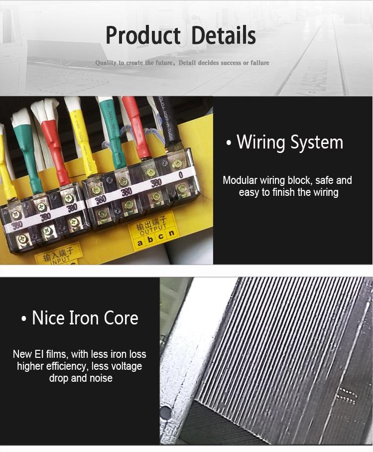 ABOT Step Down 480V to 380V Open Dry Type Isolation Transformer 100KVA