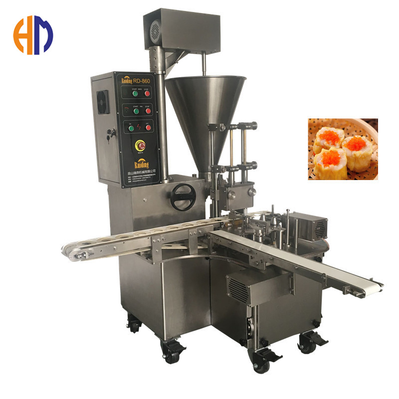 Hanming semi automatic double line siomai food processing machine