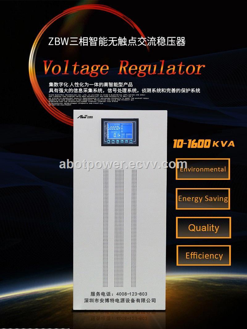 ZBW three phase AC Triac Voltage Stabilizer for Voltage 200KVA