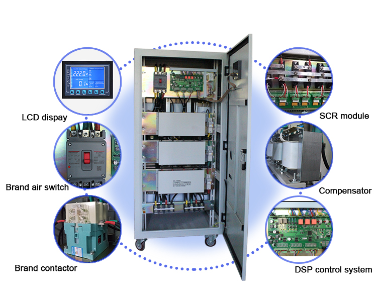 ABOT Three Phase SCR Modular Controlled Static Voltage Stabilizer 100KVA