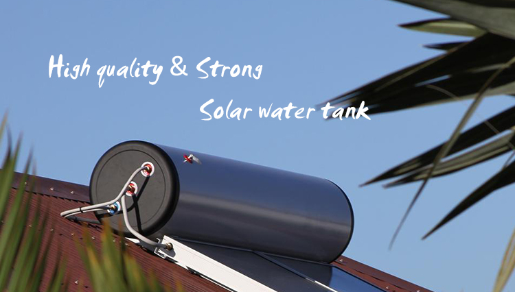 Stainless Steel Horizontal Solar Water Heater Storage Tank