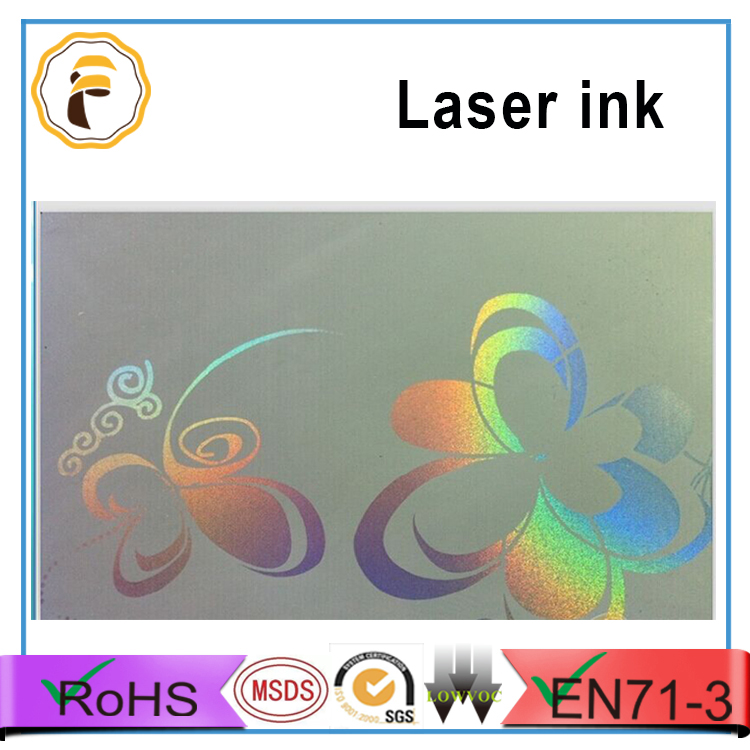 Firebird screen printing laser ink with colorful