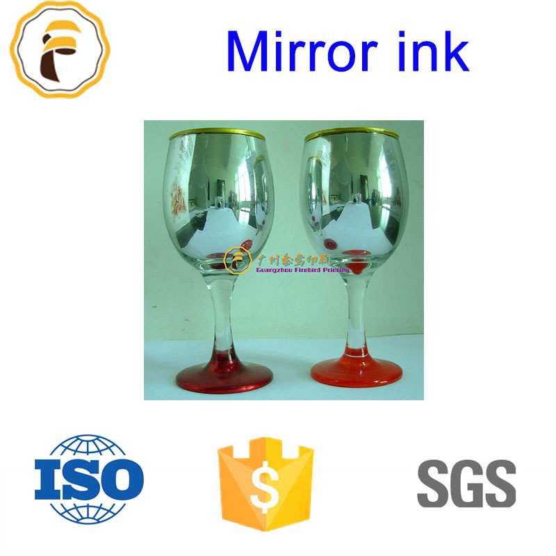 Sill screen printing high quality mirror ink of silver color
