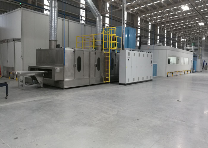 Glass Washing and Drying Machine For Automotive Glass