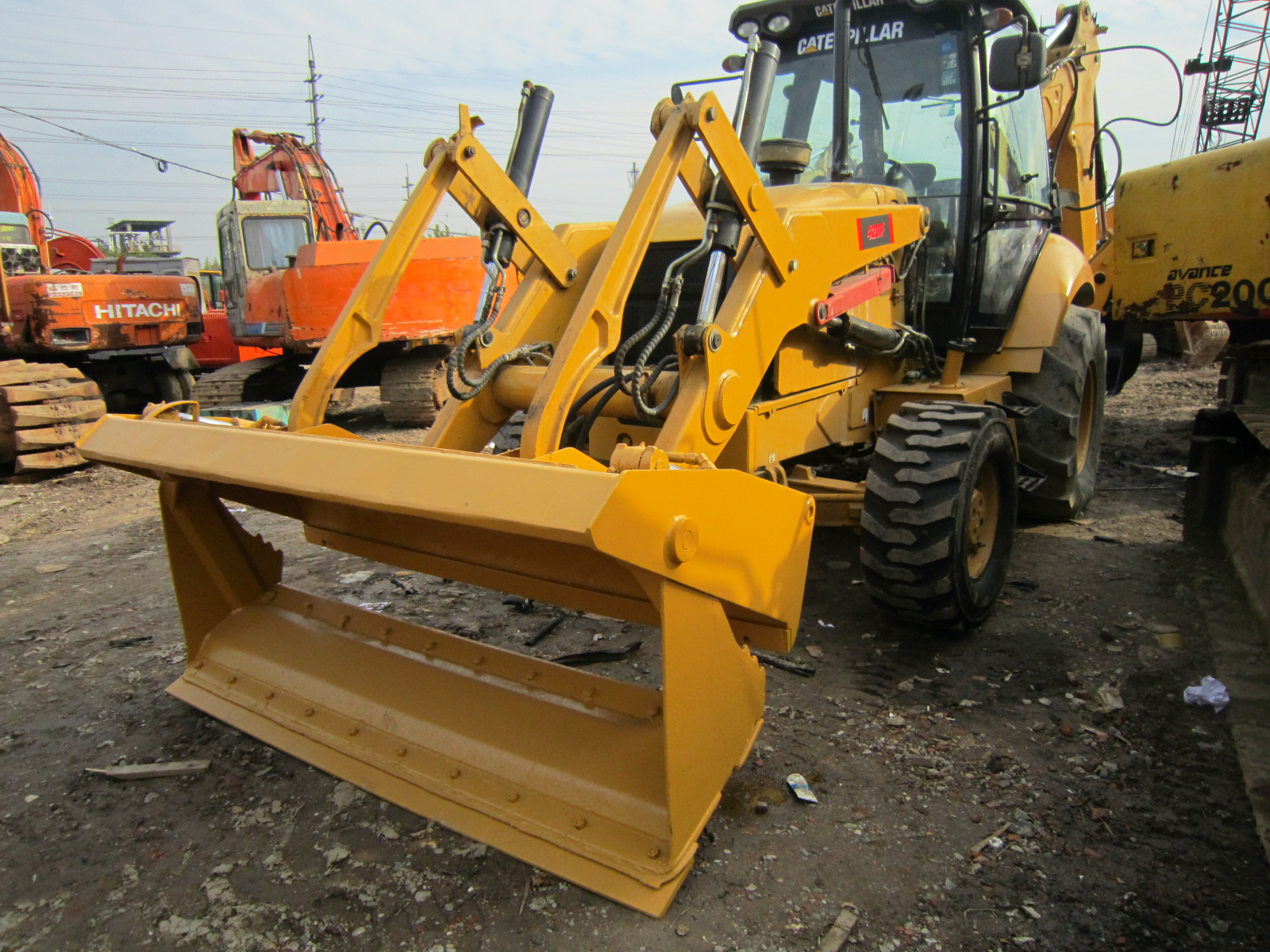 Cheap Price CAT 430F Backhoe Loader CAT 420F 430E 420E 450E Available