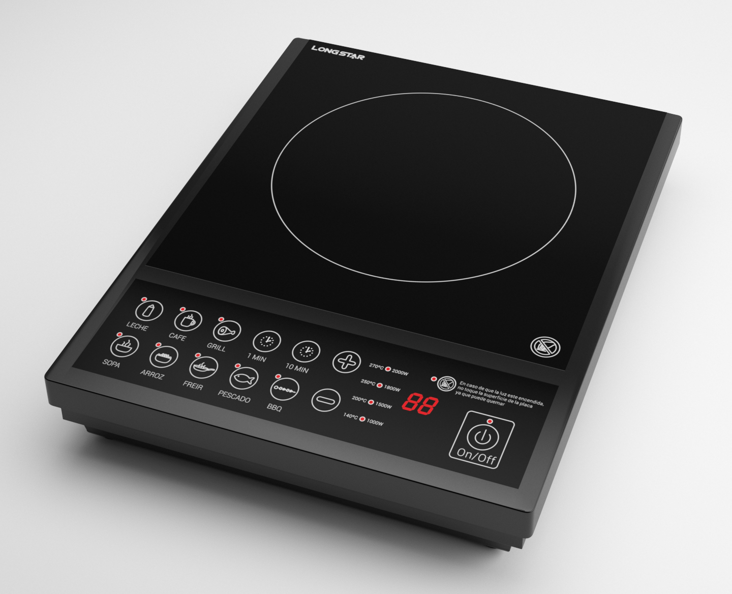 New Best Selling Model Induction Cooker with Ce Certificate