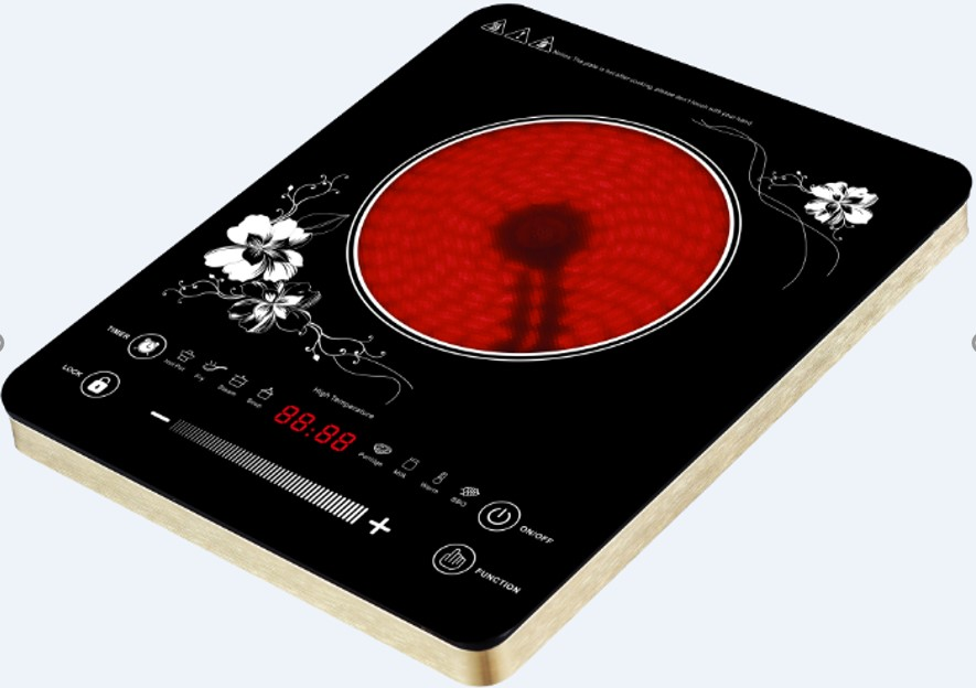 UltraThin Touch Control Infrared Cooker with Aluminum Houshing LSDT210