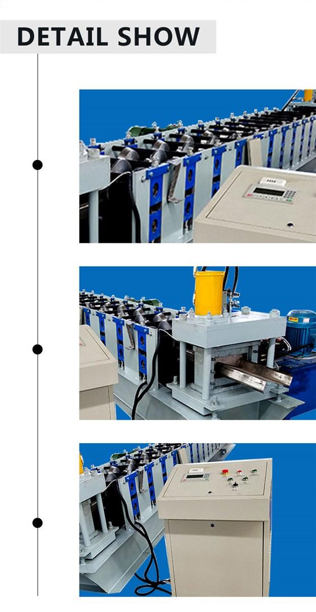 High quality cz steel walldoor frame purlin machine